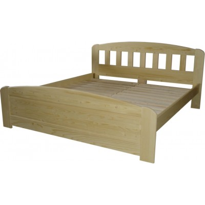 Manželská postel Smrk
