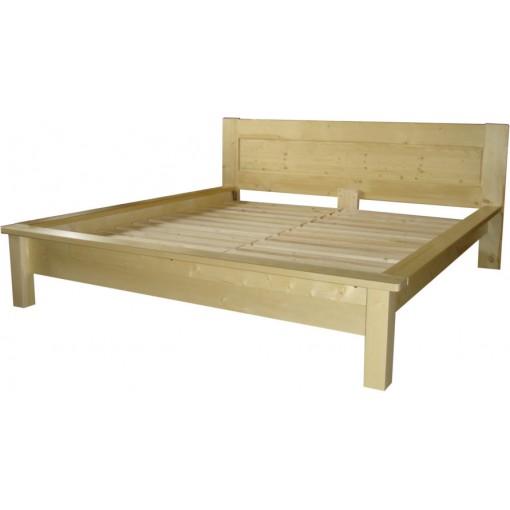 Manželská postel Smrk Sonia