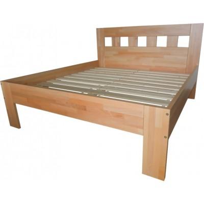 Manželská postel Buk
