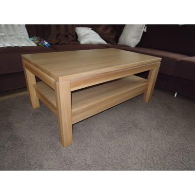 konferenční stolek bělený dub