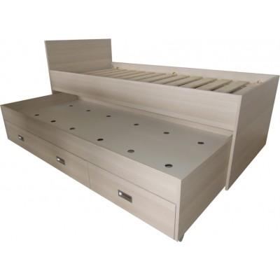 postel s přistýlkou