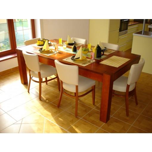 Jídelní stůl se sklem