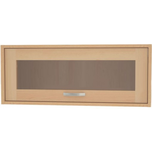 Závěsná skříňka prosklená zf 2