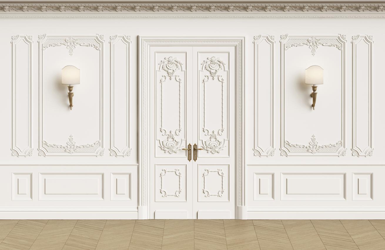 okrasné dveře