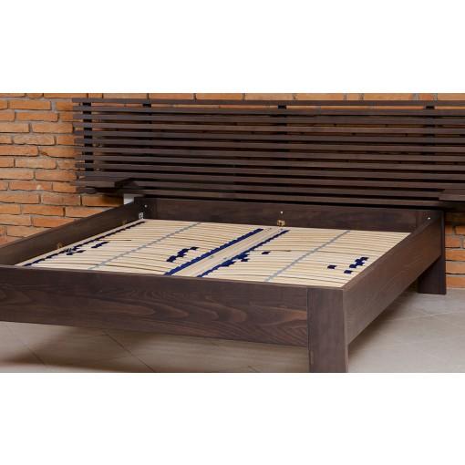Manželská postel bez matrace lunna