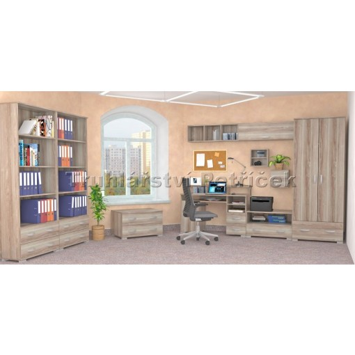 kancelář z lamina