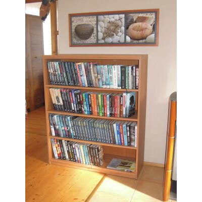 Knihovna regál nábytek