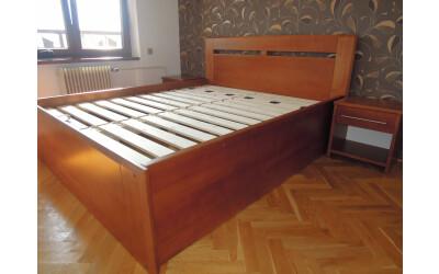 Dvoulůžková postel č.851