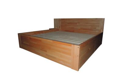 Dvoulůžková postel č.850
